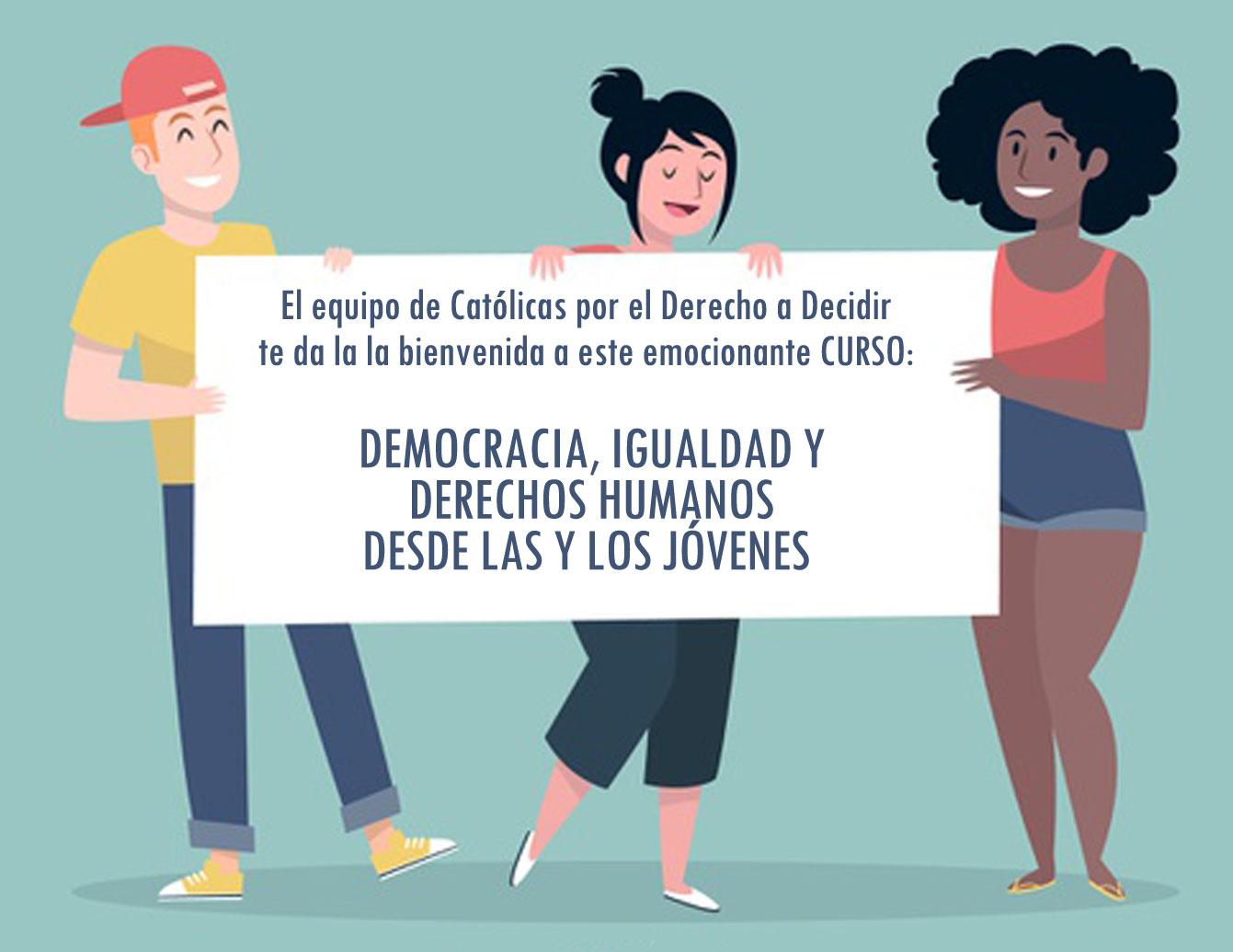 Democracia, DDHH e Igualdad desde l@s jóvenes